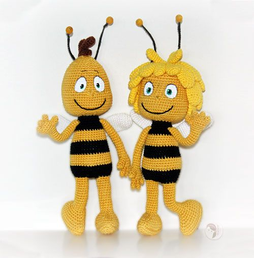 Download Maya And Willy The Bee Amigurumi Pattern (FREE ...