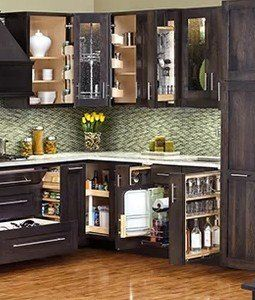 Hardware Resources 8 1 2 Inch Width No Wiggle Vanity Cabinet Pullout With Soft Close Undermount Slides Min Cabinet Opening 9 Inch Width Vbpo8 Sc Cabinet Cabinets Organization Modern Cabinets