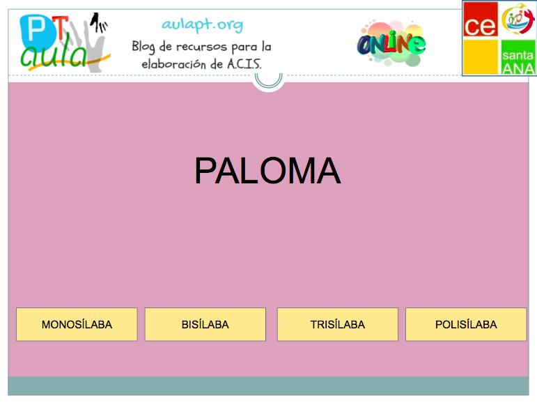 Separa En Sílabas Juego Online Para 3º De E Primaria Juegos De Silabas Separar Silabas Juegos Online