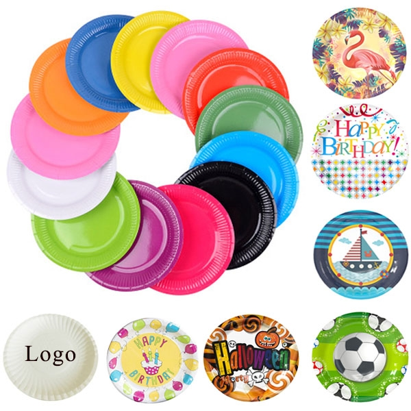 9 Coated Paper Plate Cake Plates Paper Plates Business Logo Cake Plates