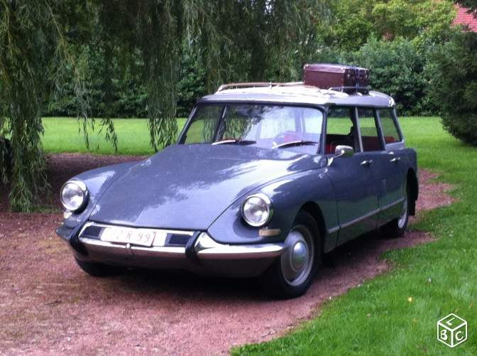 citroen ds 19 break familial de 1965 voitures dordogne citro n ds id 2nd nose. Black Bedroom Furniture Sets. Home Design Ideas
