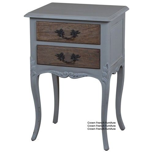 This Gorgeous French 2 Drawer Side Table Will Look So Elegant Next To Just About Any Bed A Classic Desi Furniture French Style Furniture Shabby Chic Furniture
