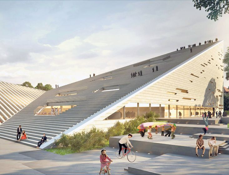 Snohetta And Sanaa Win Budapest National Gallery Ludwig Museum Competition Eco Architecture Museum Architecture Architecture