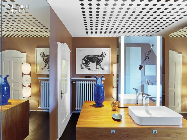 The Stuttgart Home of Designers Peter Ippolito and Stefan Gabel is a ...