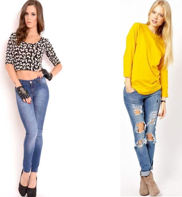 Resultado de imagen para jeans de moda | JEANS | Pinterest | Moda ...