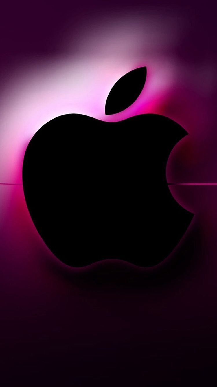 3d pink apple logo iphone 6 wallpapers appletite