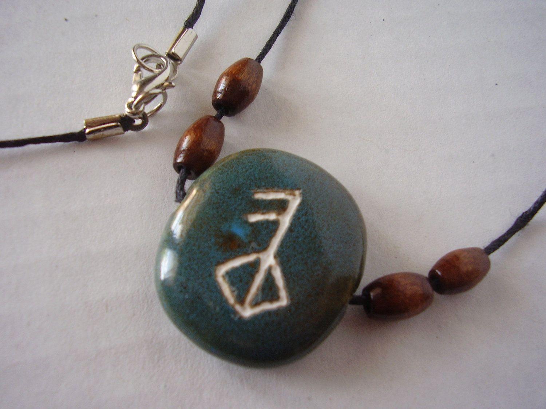 Viking rune symbol necklace of love 1500 via etsy jewelry viking rune symbol necklace of love 1500 via etsy buycottarizona Gallery