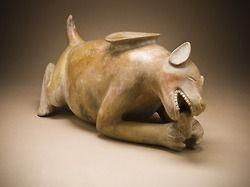 Perros representadas en el antiguo arte mexicano en el LACMA (Parte 2)