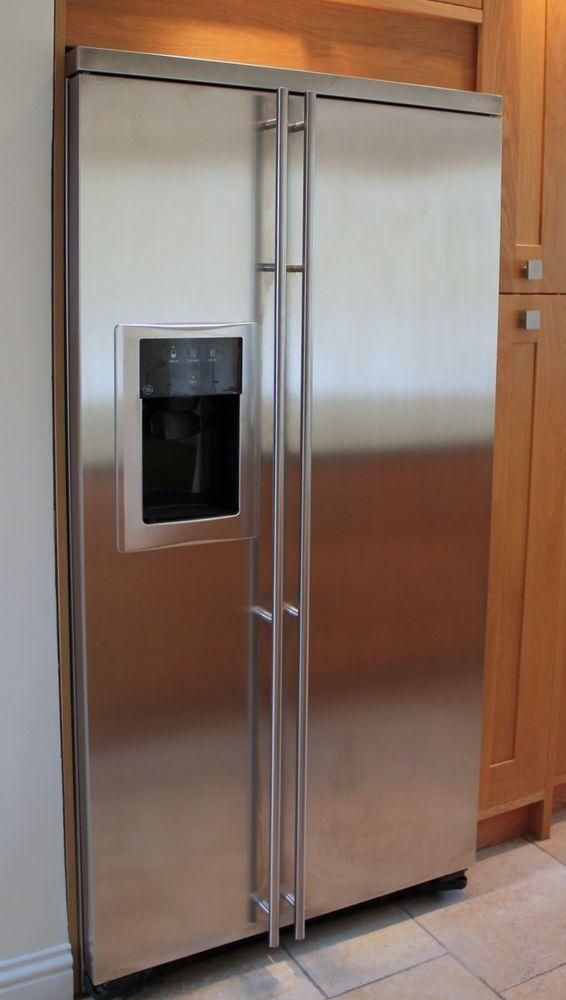 General Electric American Style Fridge Freezer