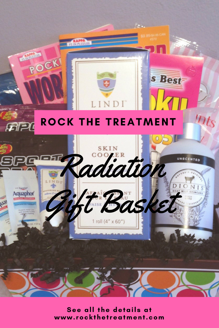 Radiation Basket | GIFT BASKET FOR RADIATION PATIENTS