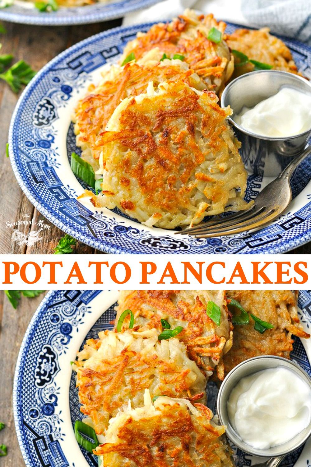 Photo of Great Grandmother's Potato Pancakes Recipe – The Seasoned Mom
