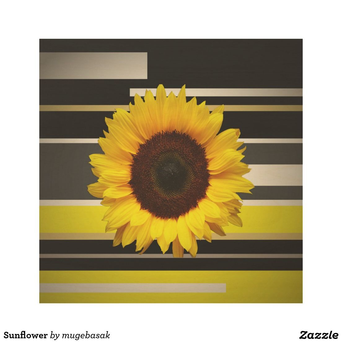 Sunflower Wood Wall Art | Wood wall art, Wood walls and Sunflowers