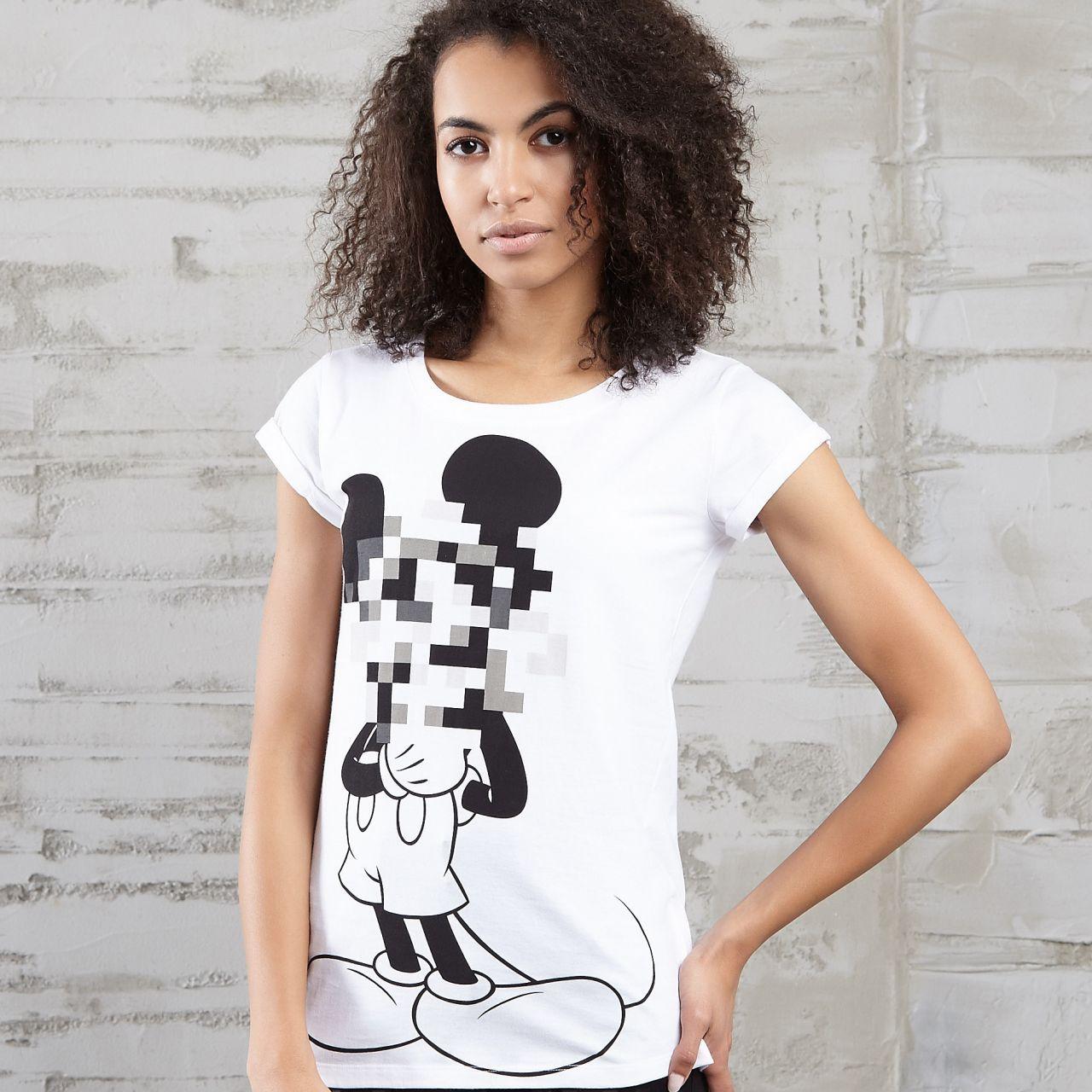 Cropp Tshity Mickey Mouse Disney Fashion T Shirts For Women Women