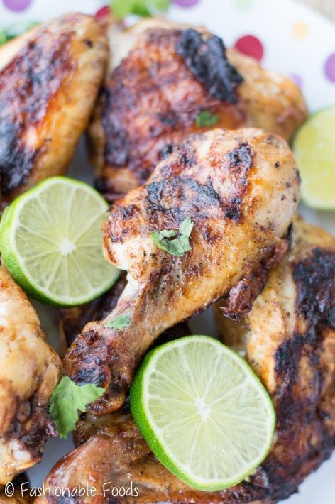 Simple flavors of lime, orange, onions, garlic, and ancho chili powder come together as the perfect marinade for chicken. Ancho chili and citrus grilled chicken is a tasty and healthy summer meal! It's gluten-free, dairy-free, Paleo, and Whole30!