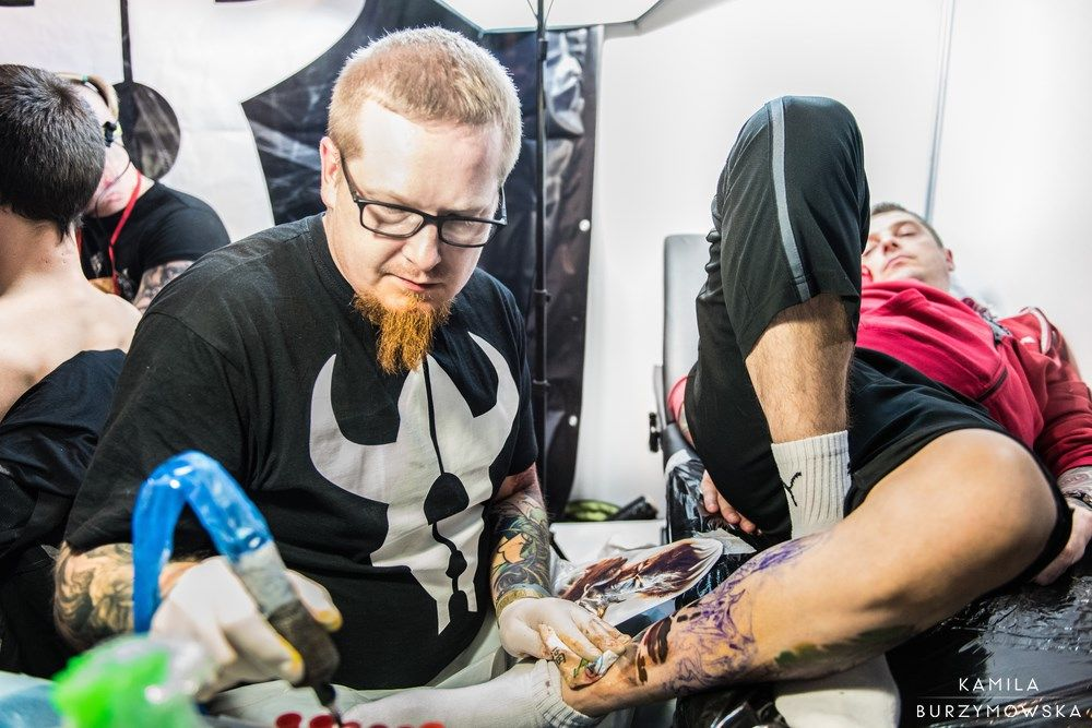 Wrocław Tattoo Convention 2016 | InkDoneRight    Almost 6000 people visited the 16th edition of Tattoo Convention, which took place on the 23th and 24th of April in Wrocław, one of the...    Pictures by Kamila Burzymowska https://www.facebook.com/KBurzymowska