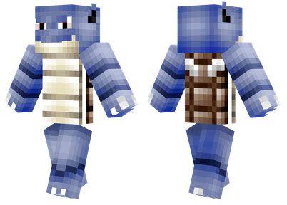Blastoise Skin For Minecraft PE Httpminecraftpedownloadcom - Skins para minecraft pe de pokemon
