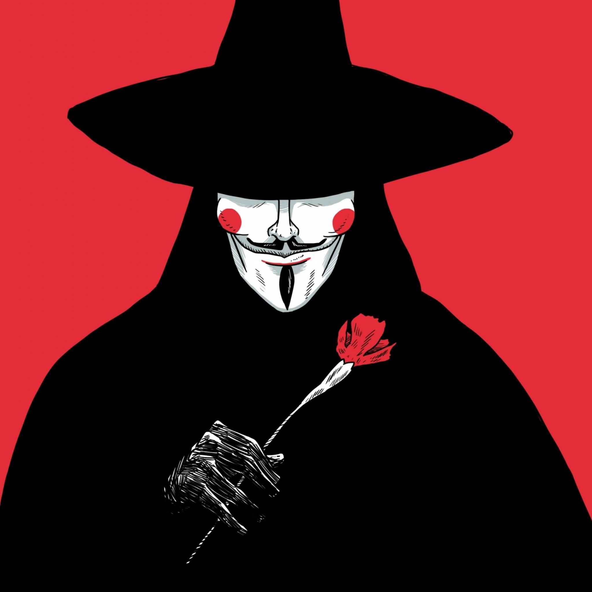 V For Vendetta IPad Wallpaper HD