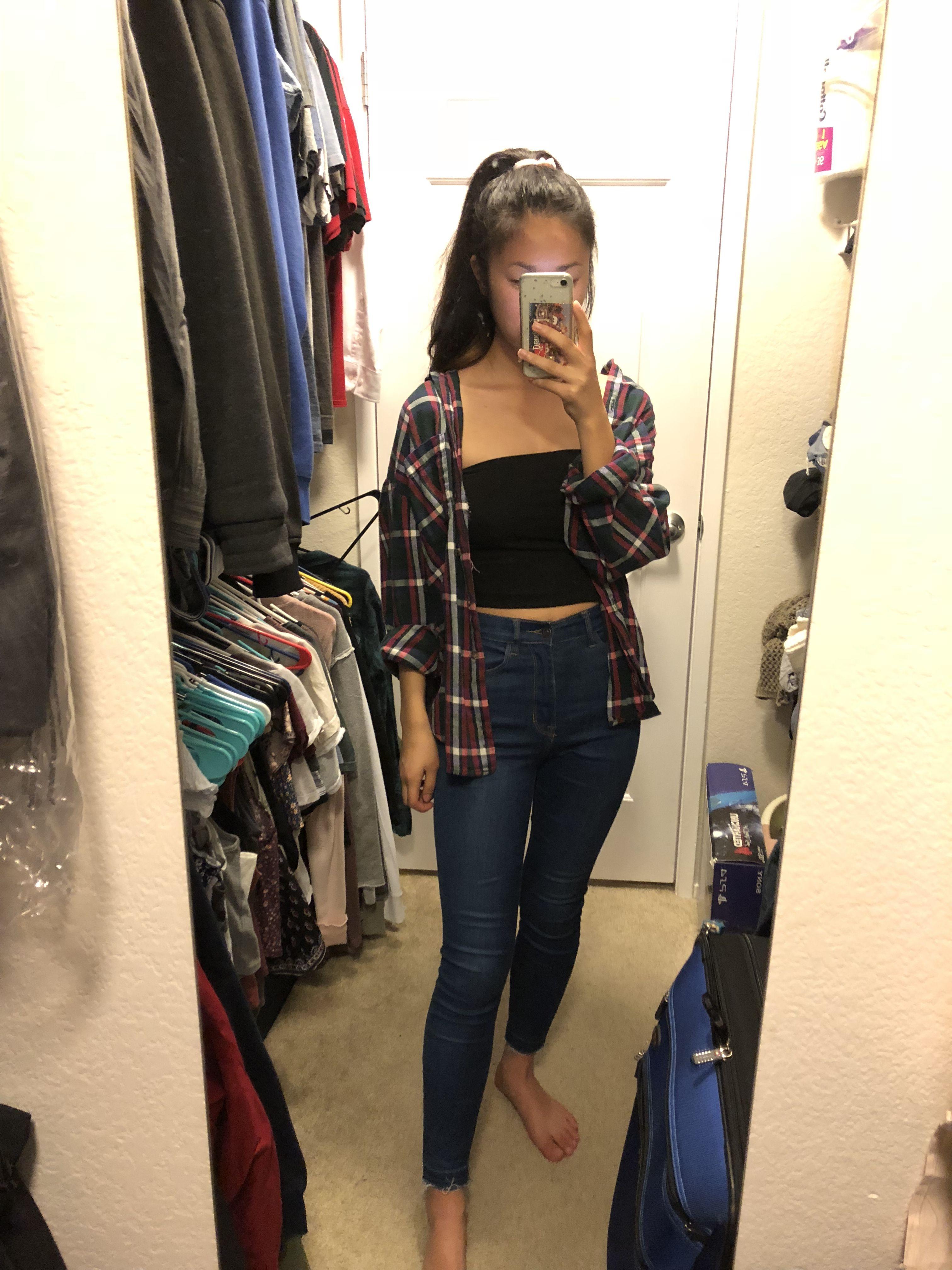 167e75a08ef High waisted skinny jeans