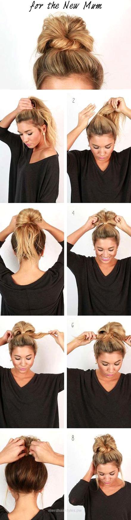 12 Super Easy Hairdos For Those Lazy Days These Super Easy Hairdos Are Perfect When You Have Those Lazy In 2020 Diy Hairstyles Easy Easy Updo Hairstyles Hair Braid Diy