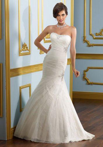 New Original Mori Lee By Madeline Gardner Wedding Gown Size 14