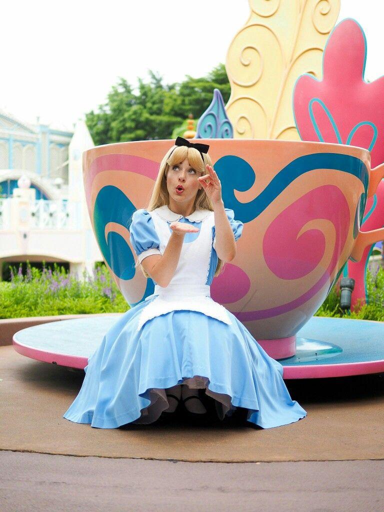 Alice at The Royal Tea Party, Disneyland