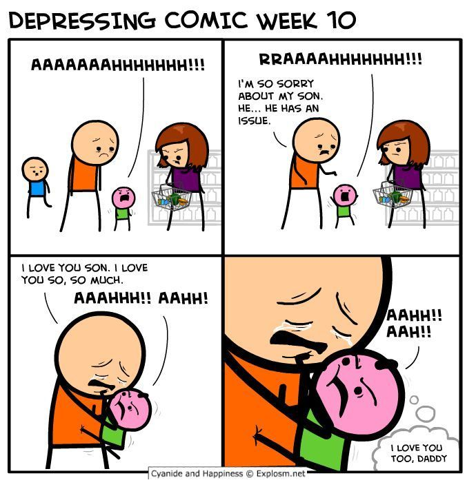I Love You Son Cyanide Happiness Cyanide And Happiness Comics Cyanide And Happiness