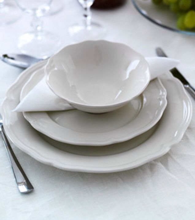 IKEA - ARV dinnerware set Dinnerware that combines a simple rustic design with a soft ruffled edge. It allows you to coordinate ARV with other porcelain & IKEA Dishes-- I love. | TO BUY | Pinterest | Kitchen decor Twine ...