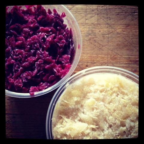 Raw, Unpasteurized Sauerkraut from @Jessie Sosnicki - buy it at Brickworks Farmers' Market