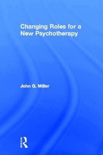 #Psychotherapy is not a one size fits all approach. As author #JohnMiller describes in #ChangingRolesforaNewPsychotherapy, all theoretical orientations have their uses and merits in different situations and with different clients.