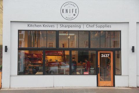 Portland Knife House Kitchen Knife Sharpening Chef Supplies Knife