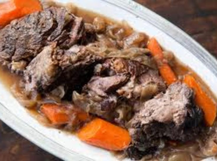 Sunday Pot Roast with Gravy (for diabetics)   - diabetic menu - #Diabetic #diabetics #gravy #menu #Pot #Roast #Sunday #diabetesmenu