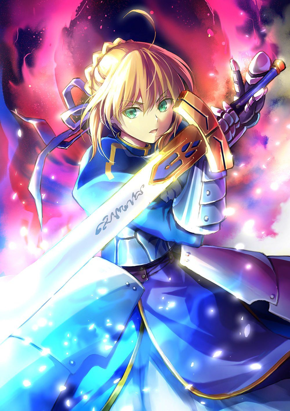 The OG Saber fatestaynight (With images) Fate stay