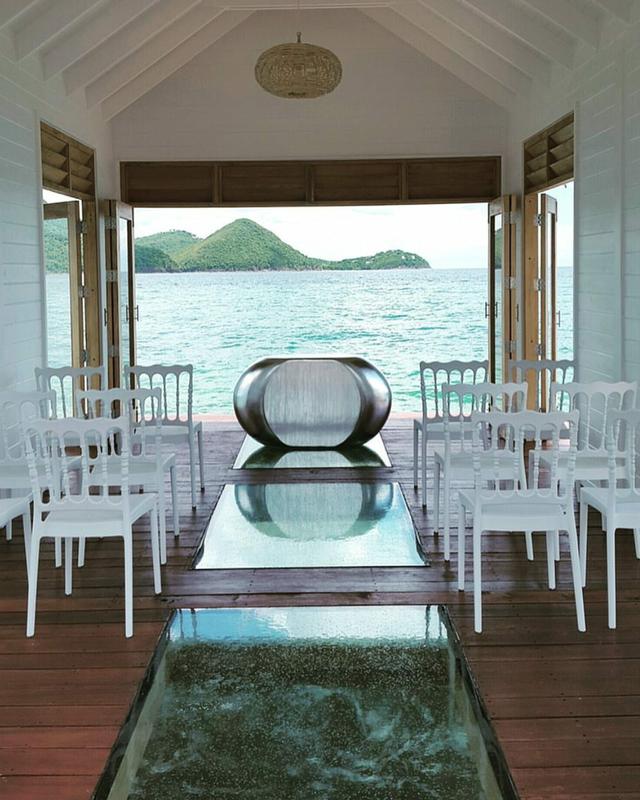Overwater Chapel At Sandals Grande St Lucian Wedding Pinterest