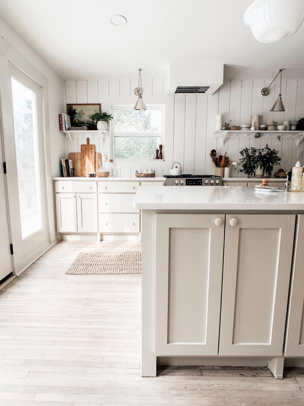 Our Corner Cottage Kitchen Tour — Emily Netz | Neutral ...