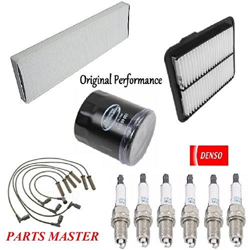 Tune Up Kit Air Cabin Oil Filters Wire Spark Plug for