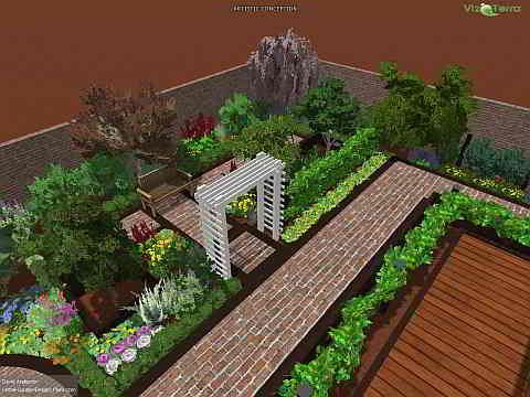 Exceptional Home Garden Design Plan Edible Landscaping Attractive Herb Amp .