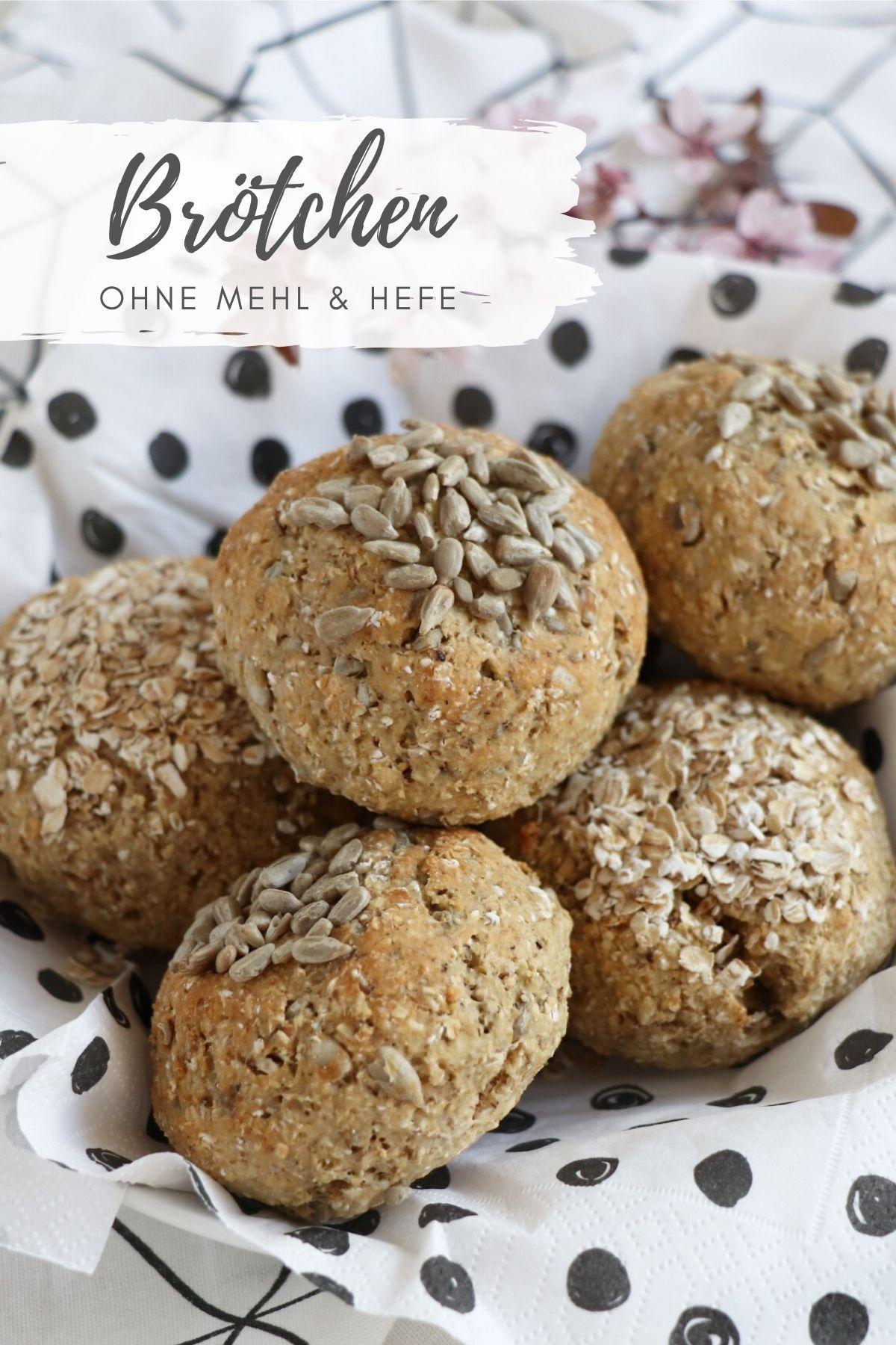 Rezept: Brötchen ohne Mehl backen