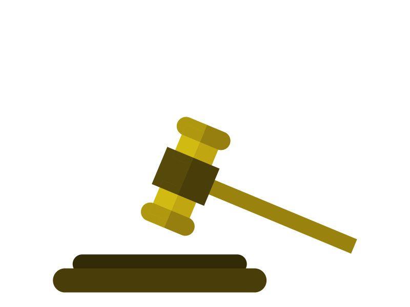 Judge Hammer Icon Icon Hammer Icon Font