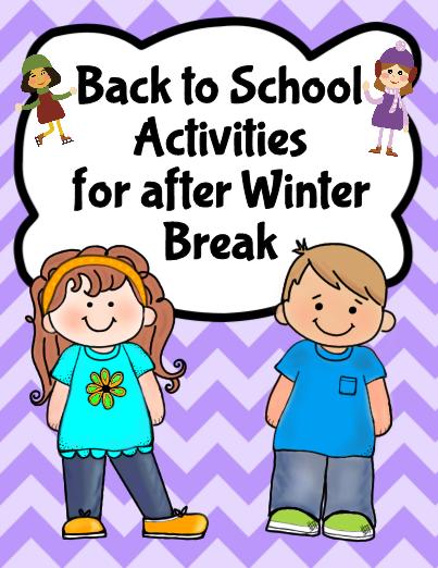 Back to School after Winter Break #editableprintables #freeprintables #goal setting for kids activities #Printables