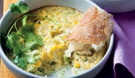 This American-style corn bake is delicious.