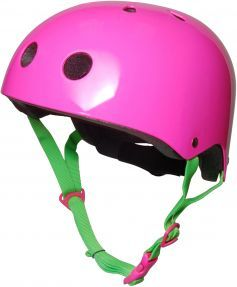 This Funky Neon Pink Designed Bike Helmet Is Fully Compliant With