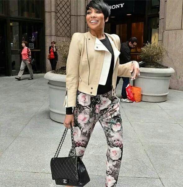 Love her pants!!!