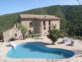 Casa Pairant Coll De Nargo Lleida Spain Piscinas Casas Rurales Piscina Cubierta