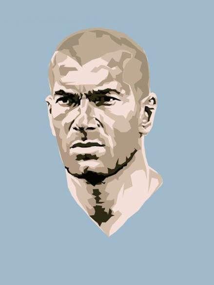 Sport Poster Soccer Zinedine Zidane 59+ Ideas #sport
