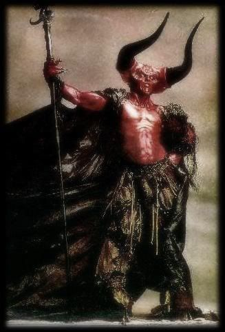 Lord darkness played by Tim curry in legend he is what nightmares are made from