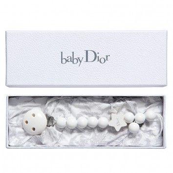 33556380 Dior White Wooden Dior Star Dummy Clip in a Gift Box (23cm) at  Childrensalon.com