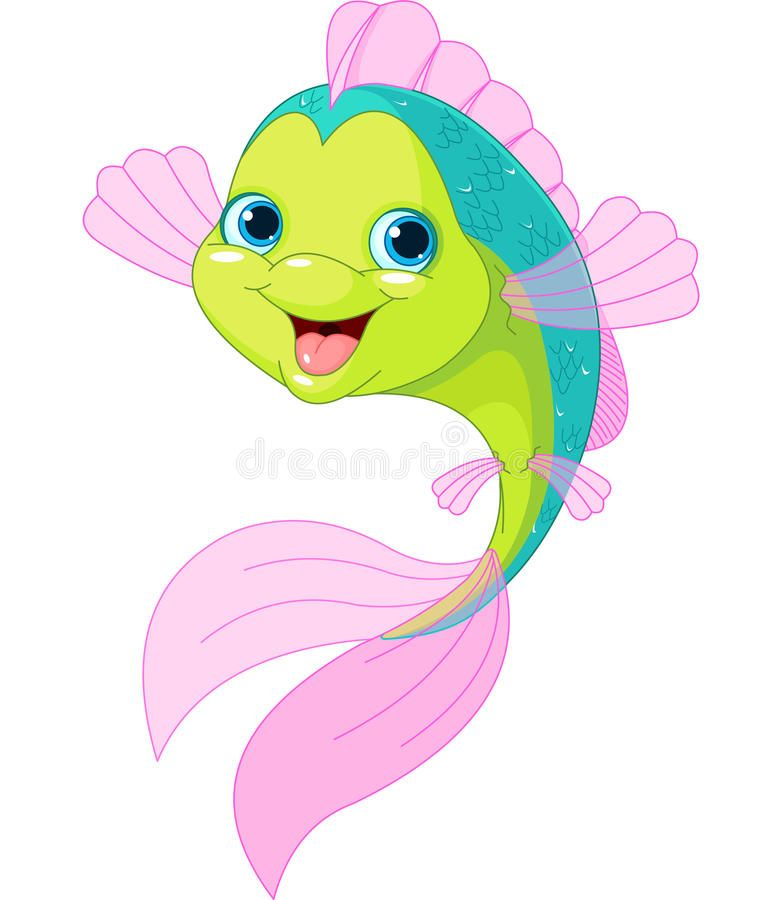 Cute Cartoon Fish Smiling Cute Isolated On White Sponsored Fish Cartoon Cute Smiling White Ad Cartoon Fish Cute Cartoon Fish