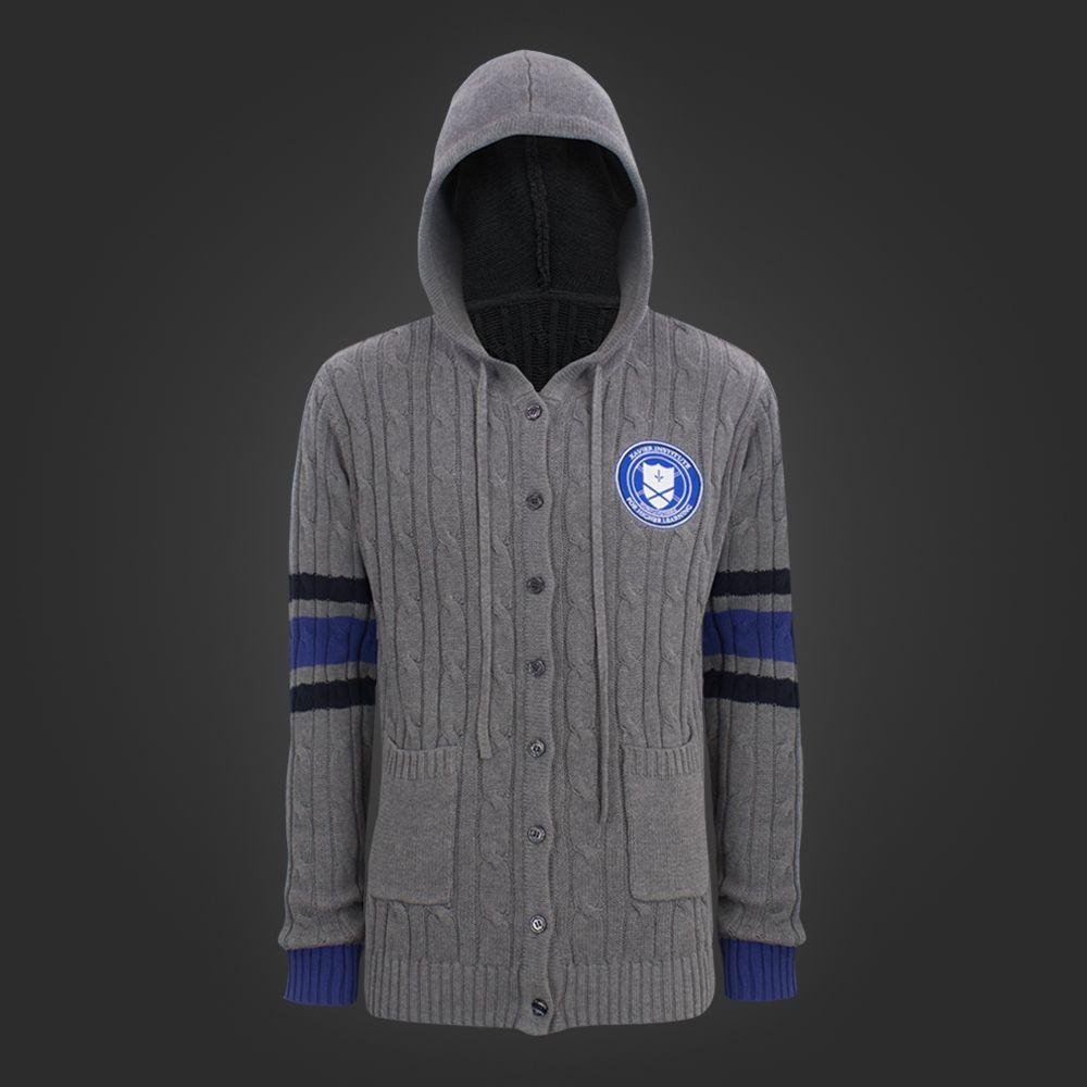 Xavier's School Cardigan | $60US  #clothing #welovefine #xmen #xavierschoolforgiftedyoungsters #marvel