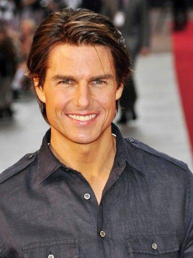 Tom Cruise Gaya Rambut Pria Rambut Pria Rambut Baru