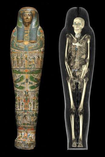 Mummy of priests daughter Tamut 900BC.